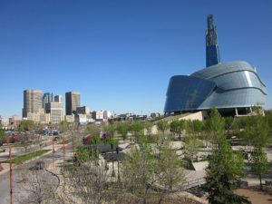 Canadian Museum for Human Rights at Winnipeg by Guy_Dugas